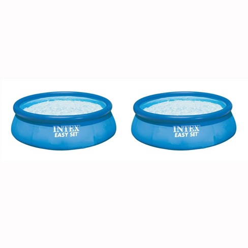 Intex 12ft x 30in Easy Set Inflatable Above Ground Pool w/ Filter Pump (2 Pack) - image 1 of 4