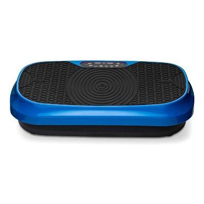LifePro LP-WVRM-BLU Mini Portable Home Body Weight Training Fitness Exercise Workout Waver Vibration Plate Platform Equipment Machine Set, Blue
