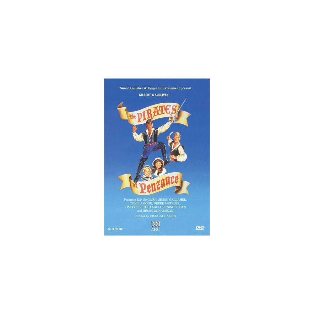 Pirates Of Penzance (Queensland Perfo (Dvd)