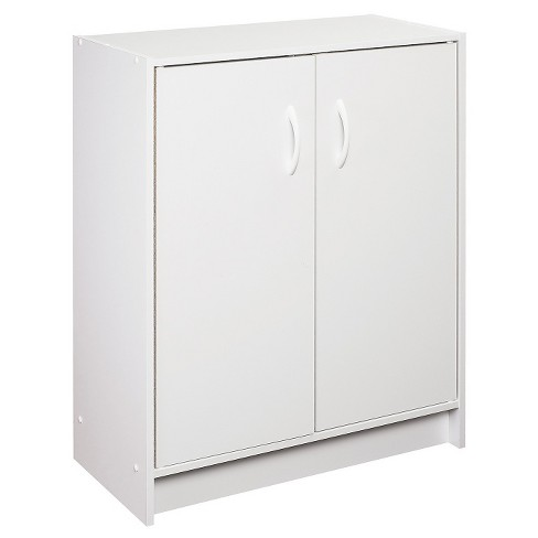 Closetmaid Two Door Storage Cabinet White