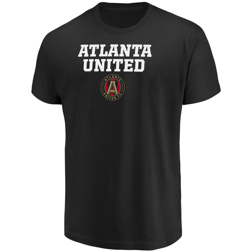 Mls Men's Short Sleeve No Nonsense Core T-Shirt Atlanta United FC - XL, Multicolored