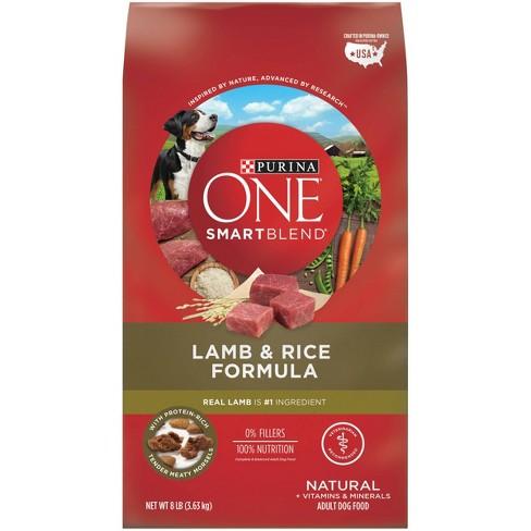 Purina ONE SmartBlend Lamb & Rice Formula Adult Dry Dog Food - image 1 of 4