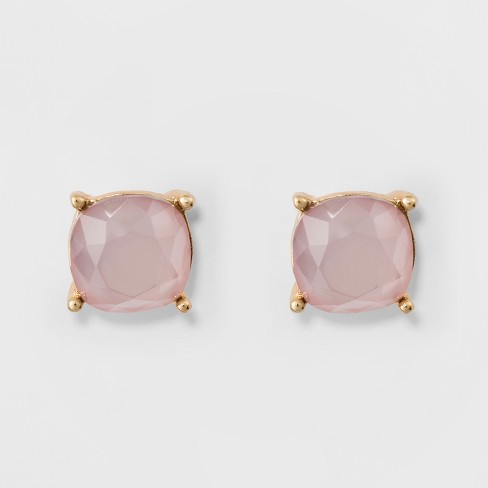 Stud Earrings A New Day Gold Pink