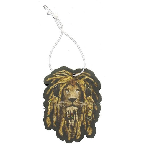 Just Funky Reggae Lion New Car Scent Hanging Air Freshener - image 1 of 2