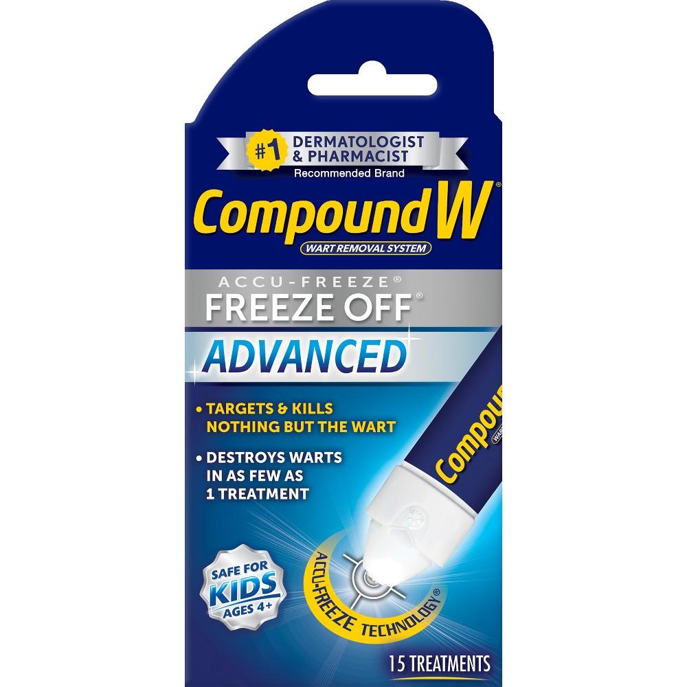 Compound W Freeze Off Advanced