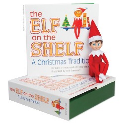 The Elf on the Shelf: A Christmas Tradition with Light Skin Tone Boy Scout Elf