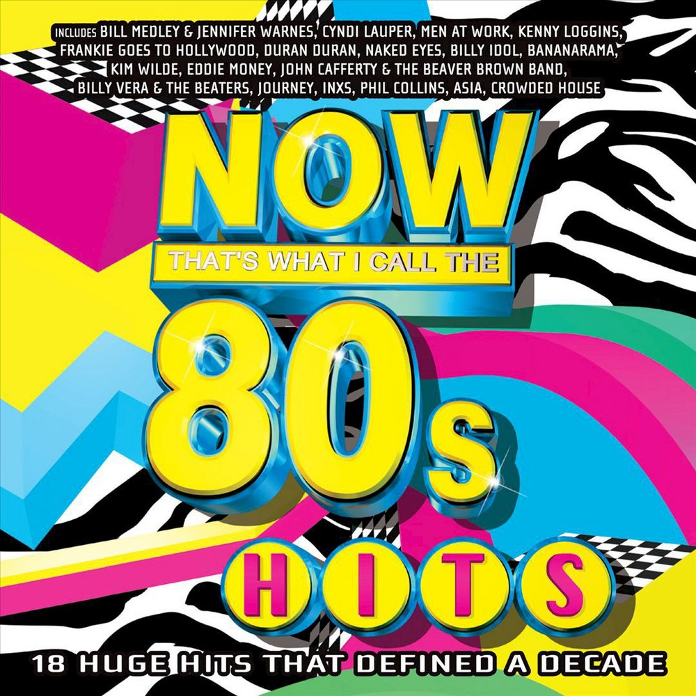 Various Artists - Now That's What I Call the 80's Hits (CD)
