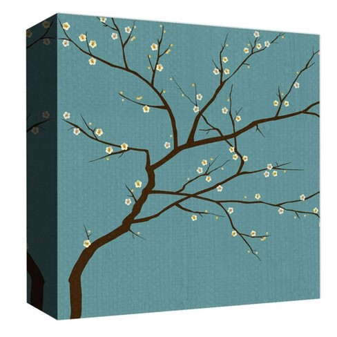 "Blooming Tree Decorative Canvas Wall Art 16""x16"" - PTM Images - image 1 of 1"