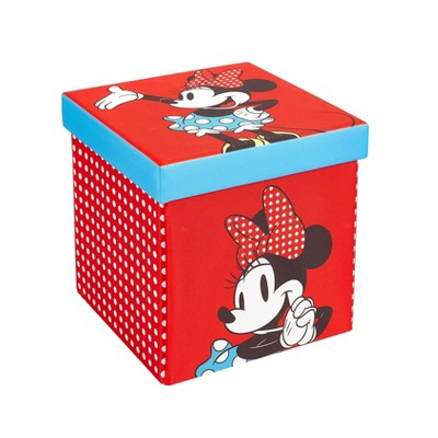 "15"" Minnie Mouse Folding Ottoman"