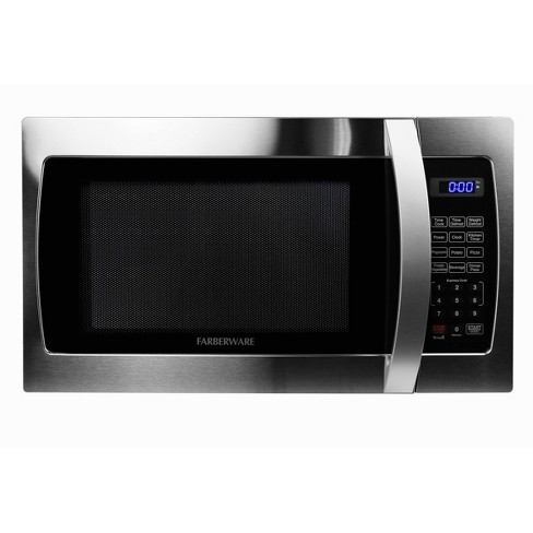 Faberware Professional 1.3 cu ft Microwave Oven - Silver - image 1 of 4