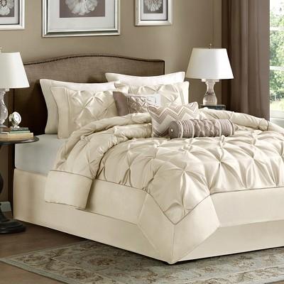 Piedmont Comforter Set (King)Ivory - 7pc