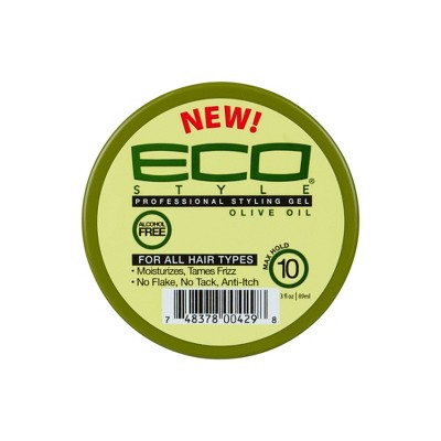 Ecoco Style Olive Oil Hair Gel - 3 fl oz