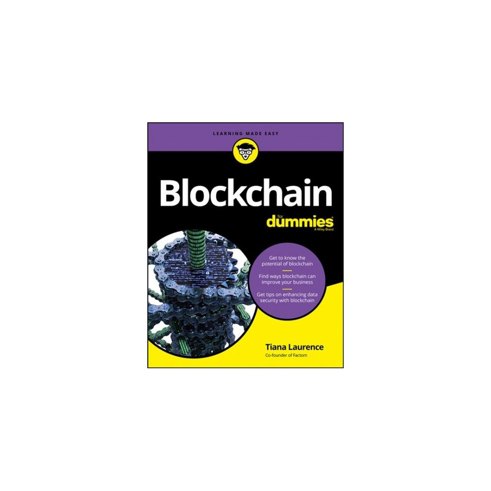 Blockchain for Dummies - (For Dummies (Computer/Tech)) by Tiana Laurence (Paperback)