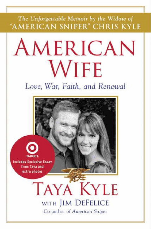 American Wife (Exclusive Content) by Taya Kyle, Jim DeFelice (Hardcover) - image 1 of 1