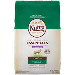 Nutro Wholesome Essentials Small Bites Adult Lamb & Rice Dry Dog Food - 15lb