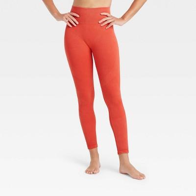 Women's High-Rise Ribbed Seamless 7/8 Leggings - JoyLab™
