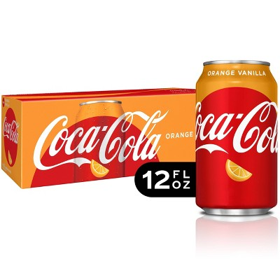 Coca-Cola Orange Vanilla - 12pk/12 fl oz Cans