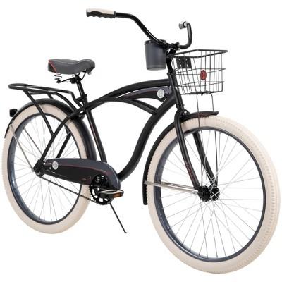 """Huffy Men's Deluxe 26"""" Cruiser Bike - Matte Black"""