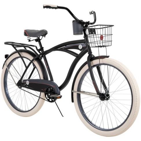 """Huffy Men's Deluxe 26"""" Cruiser Bike - Matte Black - image 1 of 4"""