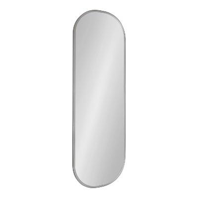 "16"" x 48"" Caskill Full Length Wall Mirror Gray - Kate & Laurel All Things Decor"