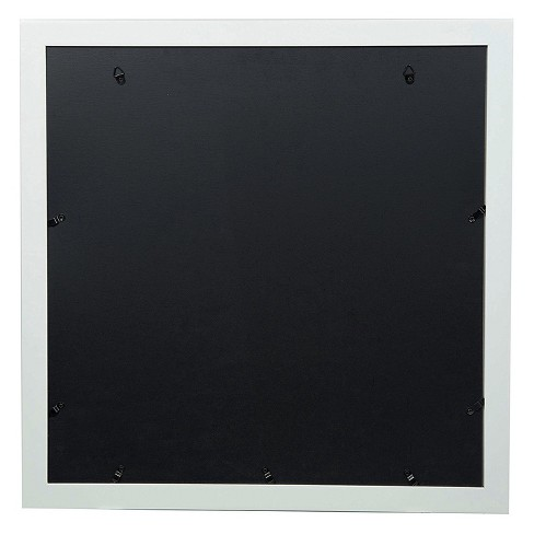 Single Image 18x18 Wide Double Mat White 8x10 Frame Gallery