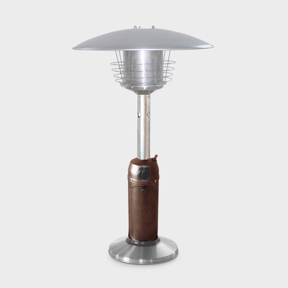 Image of Garden Sun Tabletop Patio Heater - Black - AZ Patio Heaters, Silver Black