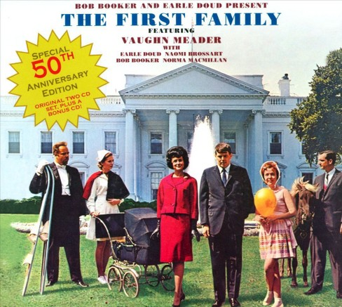 Vaughn meader - First family:50th anniversary edition (CD) - image 1 of 1