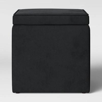 Storage Ottoman Black - Room Essentials™