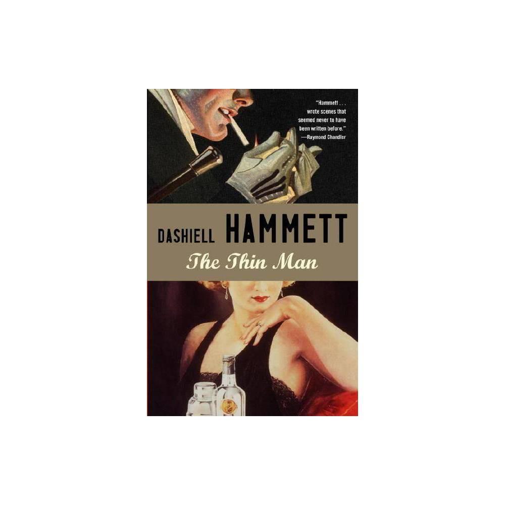 The Thin Man Vintage Crime Black Lizard By Dashiell Hammett Paperback