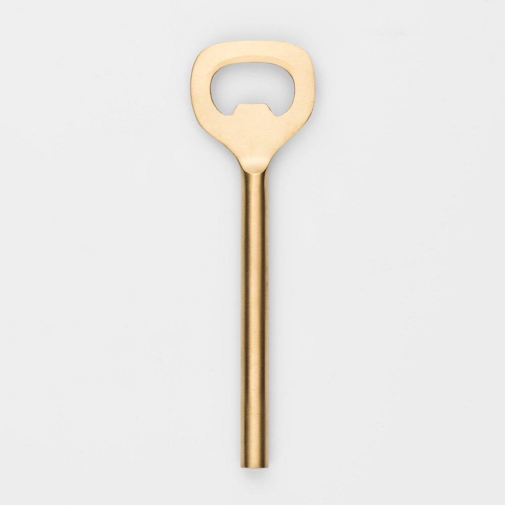 Image of Stainless Steel Bottle Opener Gold - Project 62