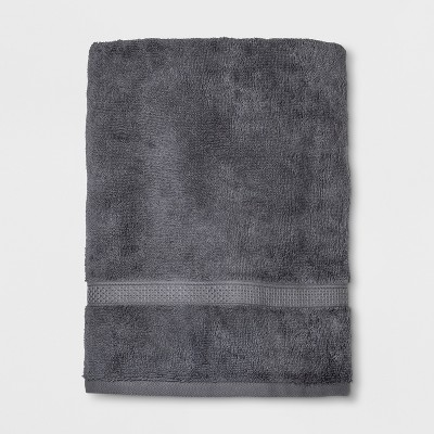 Perfectly Soft Solid Bath Towel Pigeon Gray - Opalhouse™