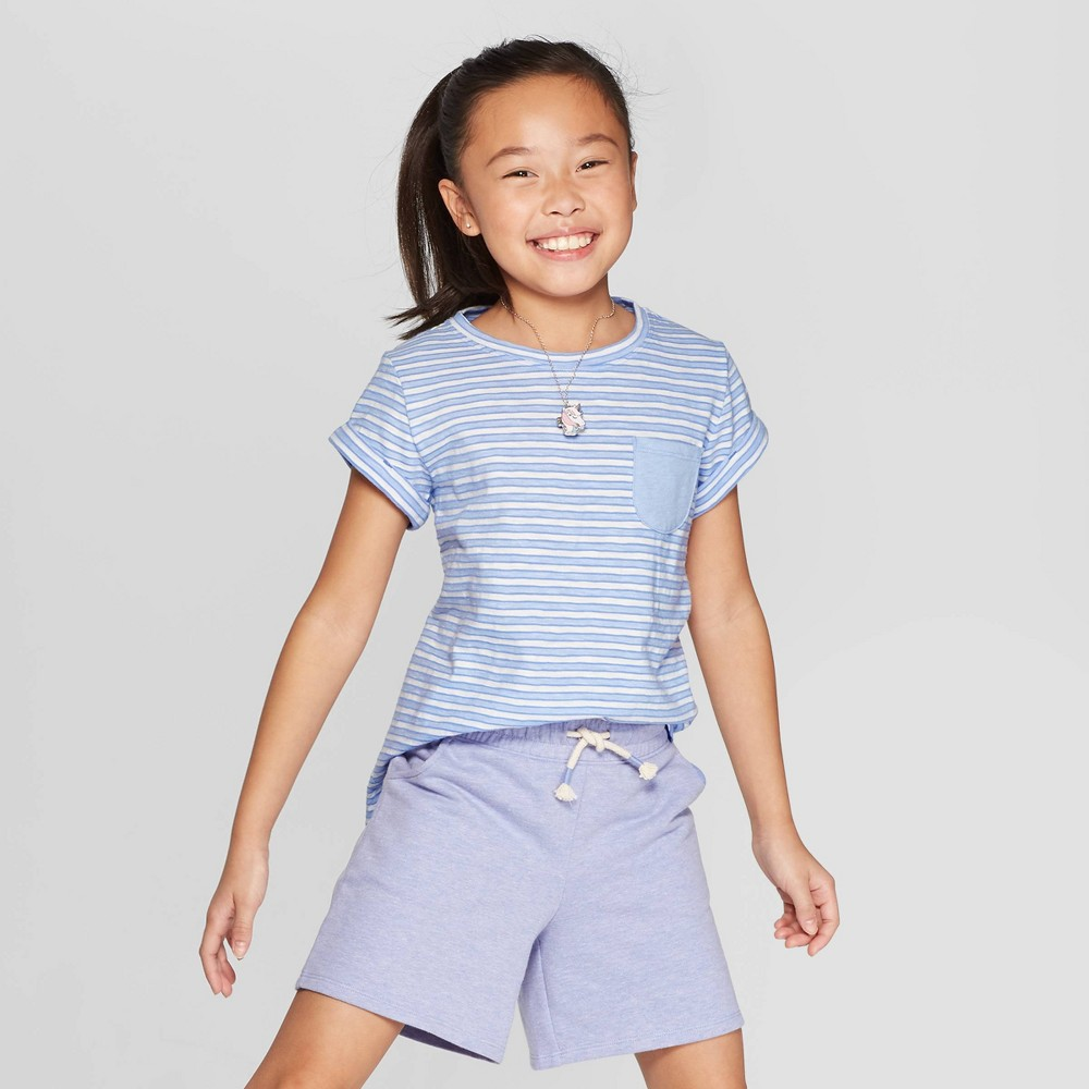 Toddler Girls Make Today Magical T-Shirt Cat /& Jack Sparkle Tee Shirt Top White