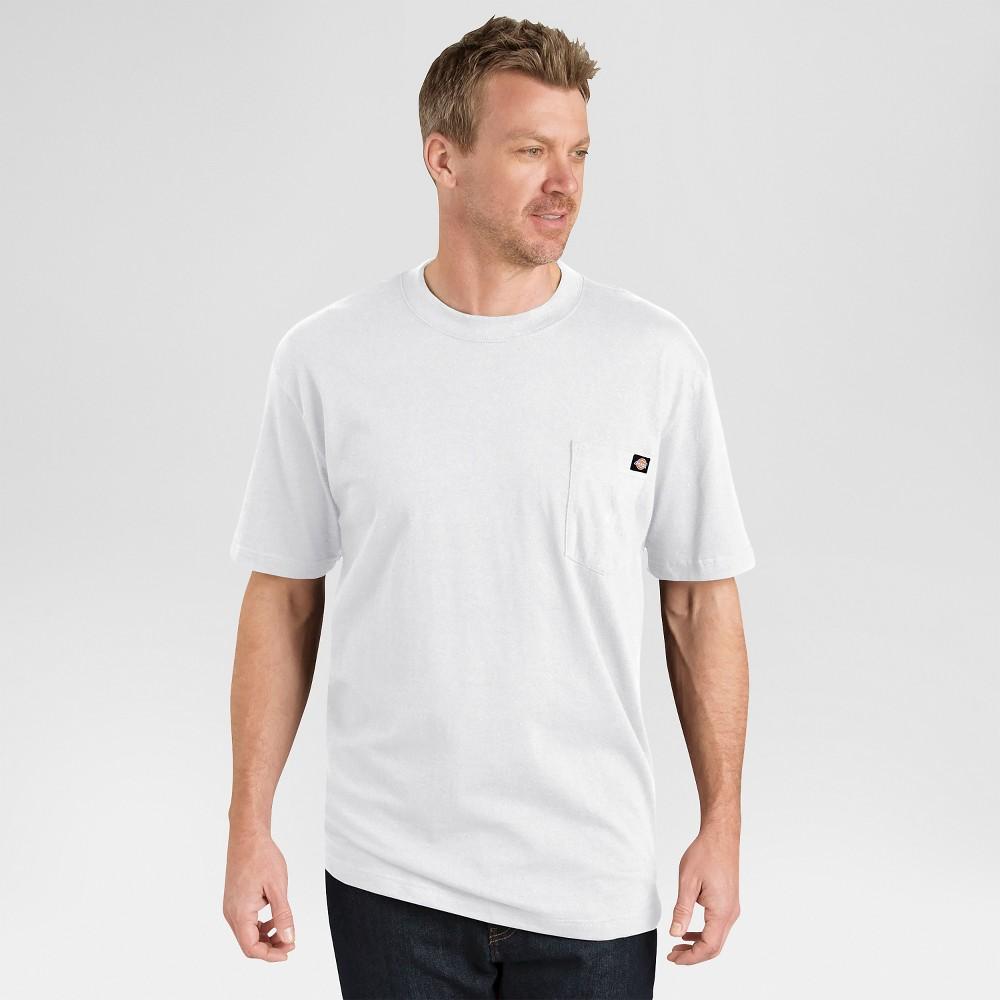 Dickies Men 39 S Big 38 Tall Two Pack T Shirt Gray 4xl