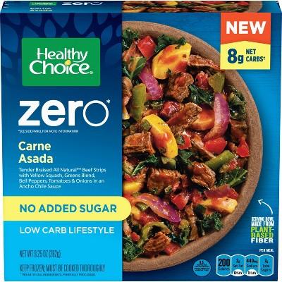 Healthy Choice Frozen Zero Added Sugar Beef Barbacoa - 9.25oz