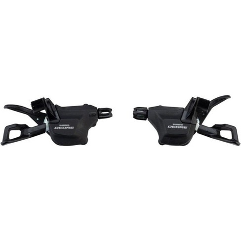 Shimano Deore M6000-I 2/3 x 10-Speed I-Spec II Shift Lever Set, Black - image 1 of 1