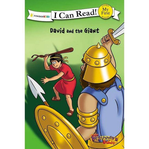 The Beginner's Bible David and the Giant - (I Can Read Books: My First) by  Zondervan (Paperback) - image 1 of 1