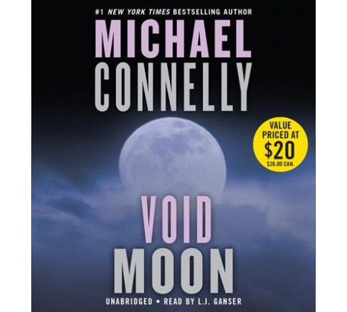 Void Moon -  Unabridged by Michael Connelly (CD/Spoken Word) - image 1 of 1