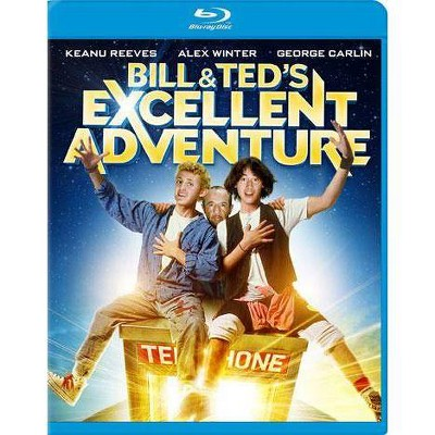 Bill & Ted's Excellent Adventure (Blu-ray)(2012)