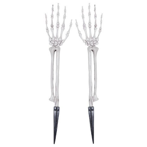 "19.9 ""Halloween Skeleton Hands - image 1 of 2"