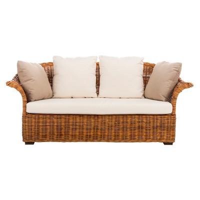 Oahu Wicker 2 Seater Sofa   Safavieh