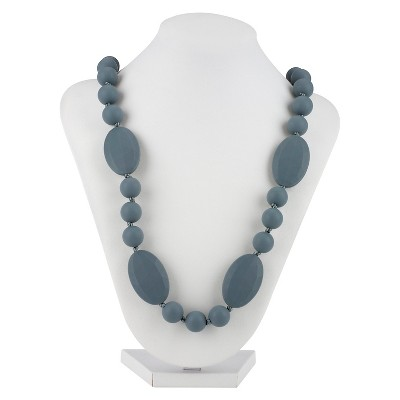 Nuby Silicone Teething Necklace Gray