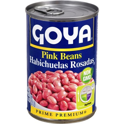 Beans: Goya Pink Beans Canned