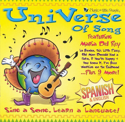 Various - Universe of song:Spanish & english (CD) - image 1 of 2