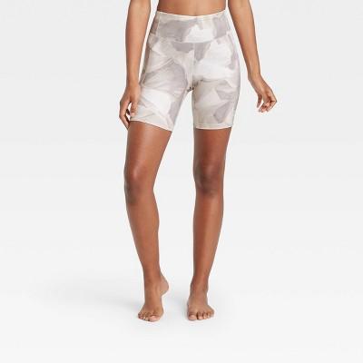 "Women's Contour Power Waist High-Waisted Shorts 7"" - All in Motion™"