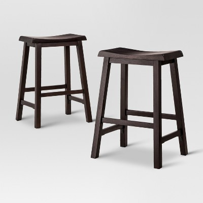 Set of 2 Trenton Counter Stool Espresso - Threshold™