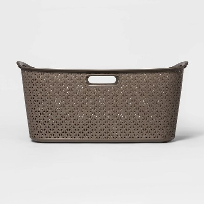 Y Weave Laundry Basket River Birch - Room Essentials™