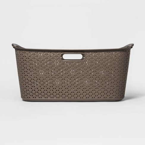 Y-Weave Laundry Basket River Birch - Room Essentials™ - image 1 of 3