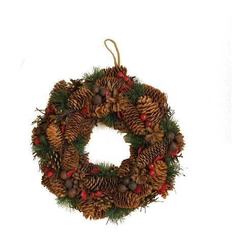"""Northlight 13"""" Unlit Berries, Twigs, Nuts, and Pine Cones Christmas - image 1 of 1"""