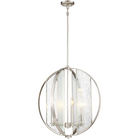 "Minka Lavery 3068-84 Via Capri 4 Light 23-1/2"" Wide Taper Candle Globe Chandelier - image 1 of 1"