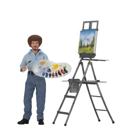 """Bob Ross 8"""" Clothed Action Figure image number null"""